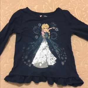 3T Disney frozen Elsa t shirt